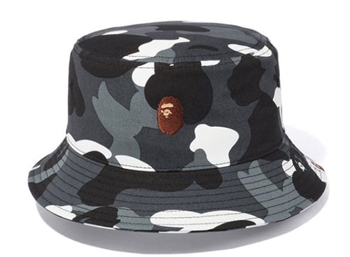 A BATHING APE CITY CAMO BUCKET HAT