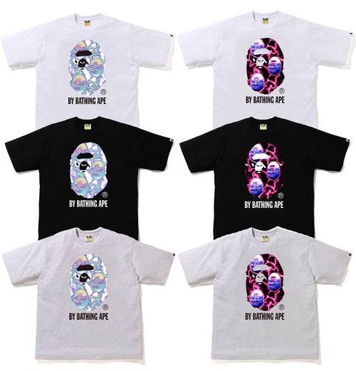 A BATHING APE LIGHTNING BY BATHING RELAX TEE