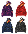 A BATHING APE COLOR CAMO TIGER FULL ZIP HOODIE - happyjagabee store