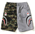 A BATHING APE 1ST CAMO HALF SHARK BEACH PANTS - happyjagabee store