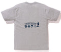 A BATHING APE BAPE HANDLE WITH CARE TEE - happyjagabee store