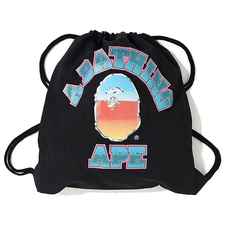 A BATHING APE GLITTER COLLEGE KNAPSACK - happyjagabee store