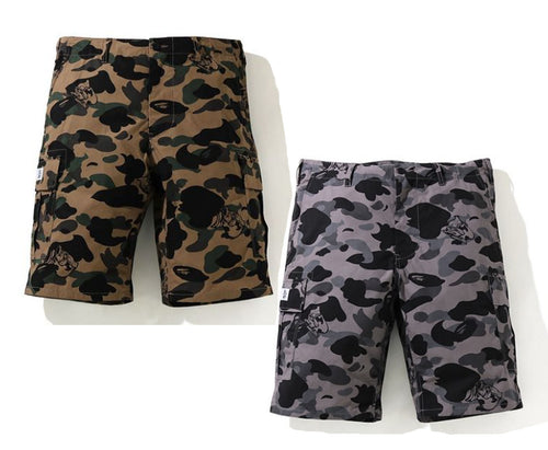 A BATHING APE URSUS MILITARY SHORTS
