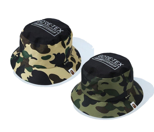 A BATHING APE GORE-TEX 1ST CAMO HAT - happyjagabee store
