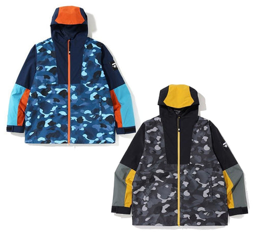 A BATHING APE GRADATION CAMO HOODIE JACKET