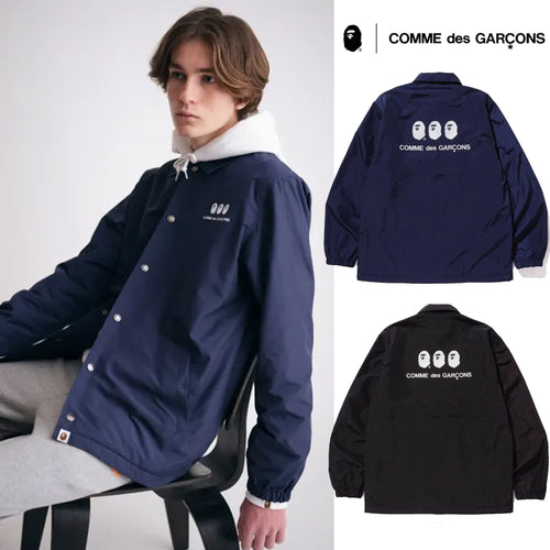 A BATHING APE × COMME des GARCONS CDG OSAKA x BAPE COACH JACKET OSAKA LIMITED