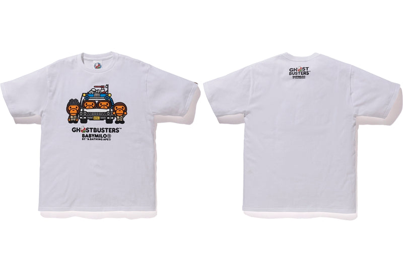 Sale! A BATHING APE x GHOSTBUSTERS BABY MILO TEE #4 - happyjagabee store