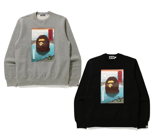 A BATHING APE APAN A BATHING APE CREWNECK