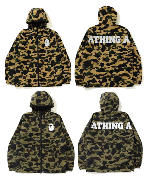 A BATHING APE 1ST CAMO A BATHING APE LIGHT JACKET