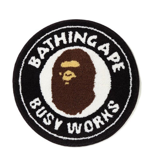 Sale! A BATHING APE BUSY WORKS RUG MAT - happyjagabee store