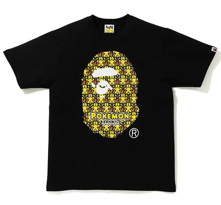 A BATHING APE Pokemon COLLECTION POKEMON TEE #1