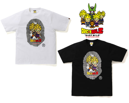 BAPE x DRAGON BALL Z BABY MILO BIG APE HEAD TEE