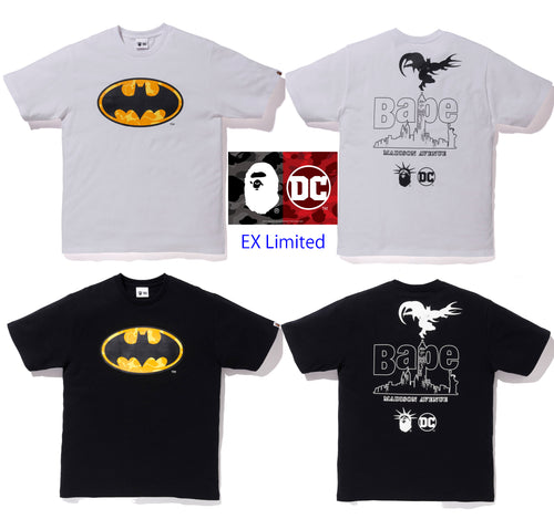 A BATHING APE BAPE × DC MADISON AVENUE BATMAN TEE
