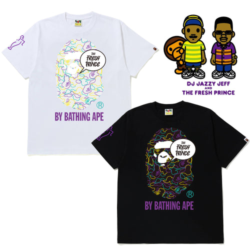A BATHING APE x THE FRESH PRINCE TEE