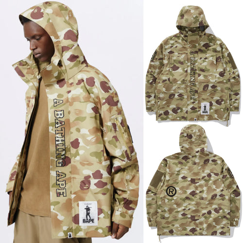 A BATHING APE BAPE x ALPHA ECWCS 3 LAYER JACKET
