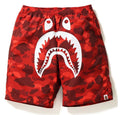 Sale! A BATHING APE COLOR CAMO SHARK BEACH PANTS - happyjagabee store