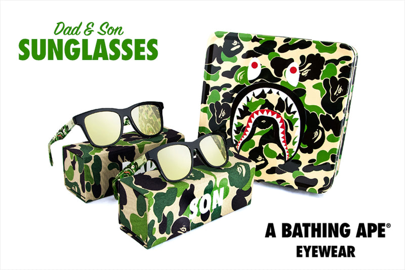 A BATHING APE DAD & SON SUNGLASSES - happyjagabee store