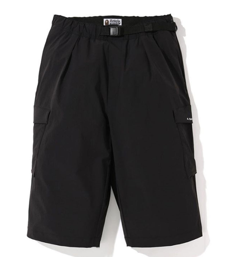 A BATHING APE STRETCH WIDE SHORTS - happyjagabee store