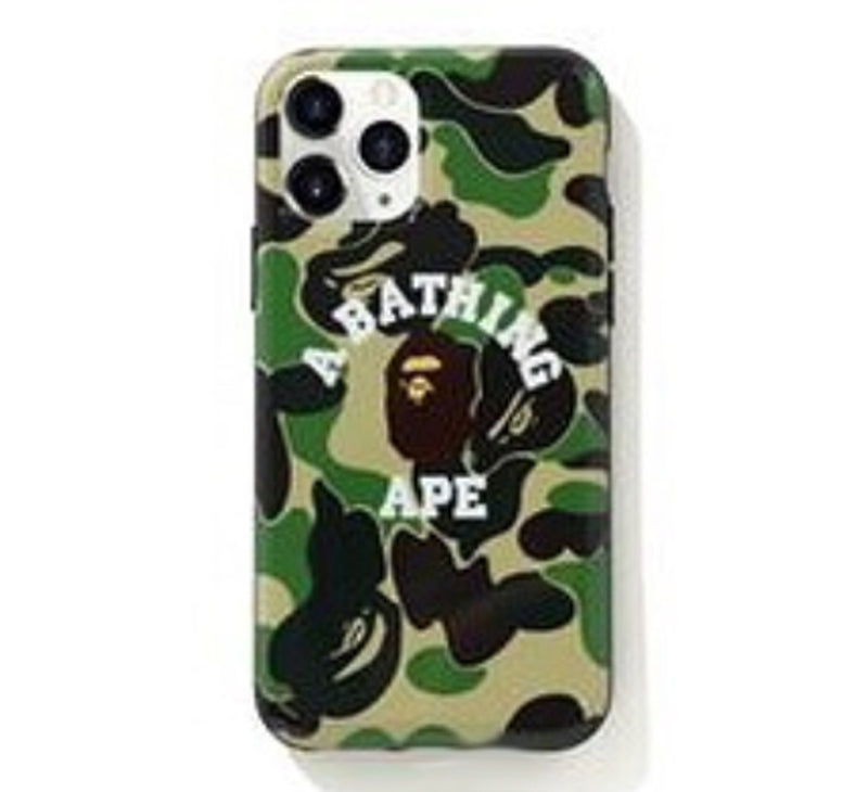 A BATHING APE ABC CAMO COLLEGE iPhone 11 PRO CASE - happyjagabee store