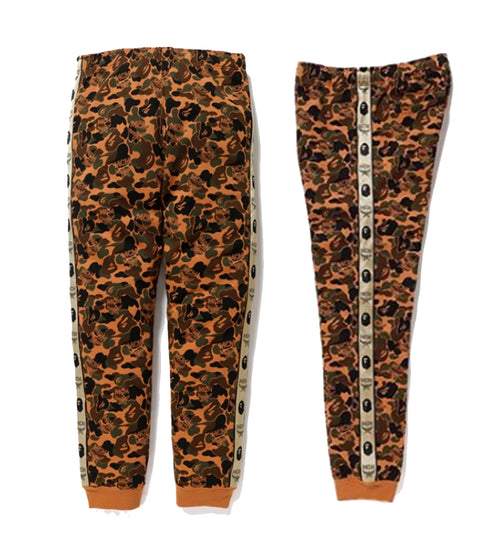 A BATHING APE MCM x BAPE CAMO SLIM SWEAT PANTS - happyjagabee store