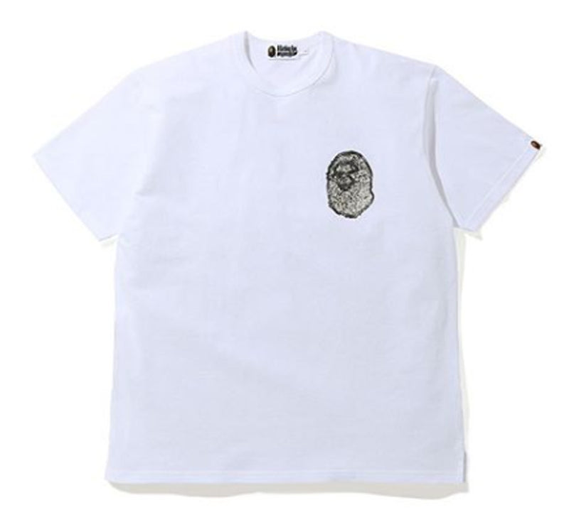 A BATHING APE RELAXED JEWELRY MOTIF TEE - happyjagabee store
