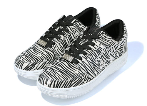 A BATHING APE ZEBRA BAPE STA LOW - happyjagabee store