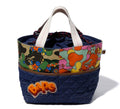 A BATHING APE LADIES' ABC CAMO FLOWER TOTE BAG - happyjagabee store
