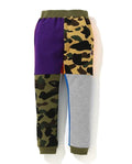 A BATHING APE 1ST CAMO CRAZY SWEAT PASNTS