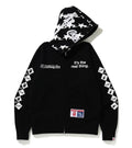A BATHING APE BAPE × COCA-COLA FULL ZIP HOODIE
