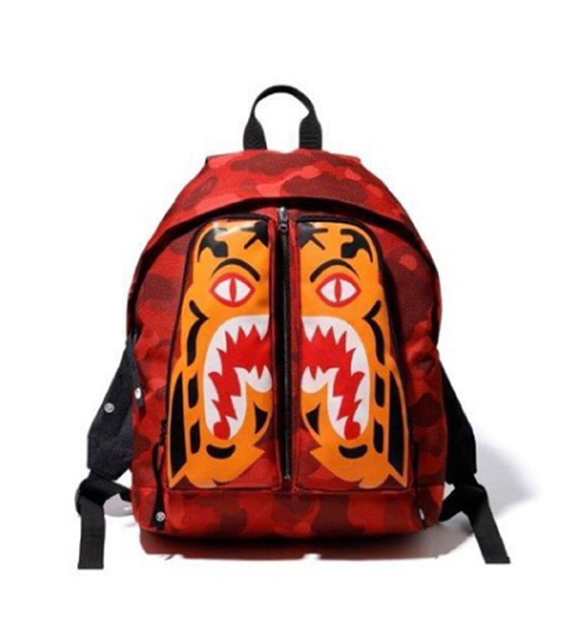A BATHING APE COLOR CAMO TIGER DAT BAG - happyjagabee store
