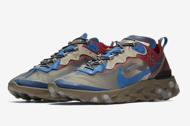 UNDERCOVER × NIKE REACT ELEMENT 87 BQ2718-200 - happyjagabee store