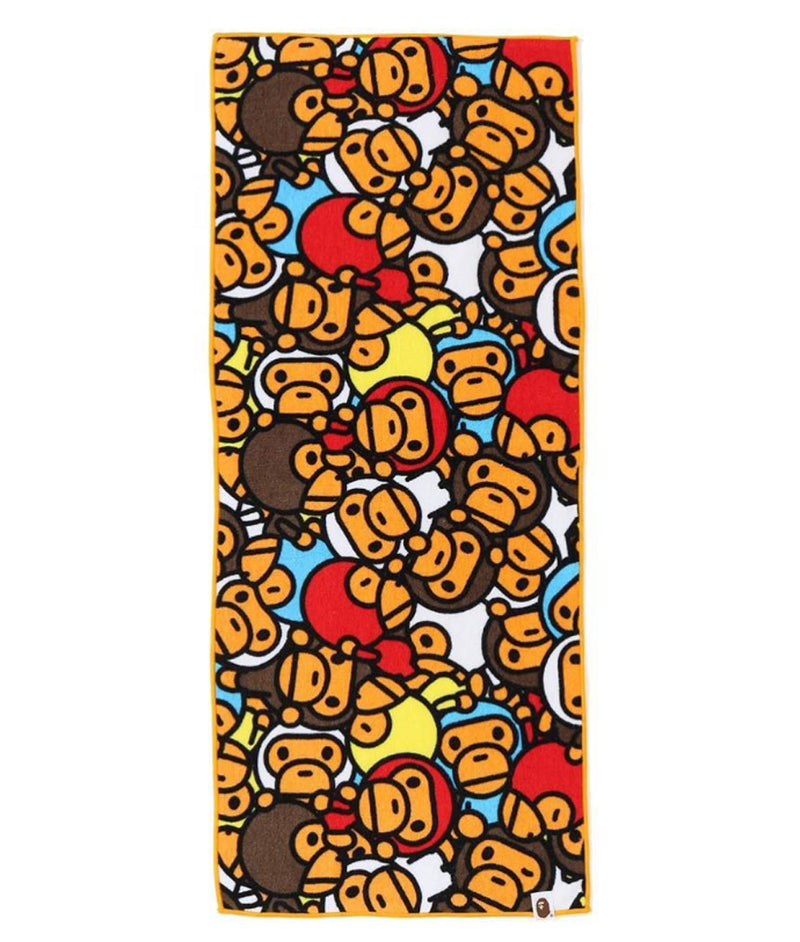 A BATHING APE KIDS ALL BABY MILO MULTI FACE TOWEL - happyjagabee store