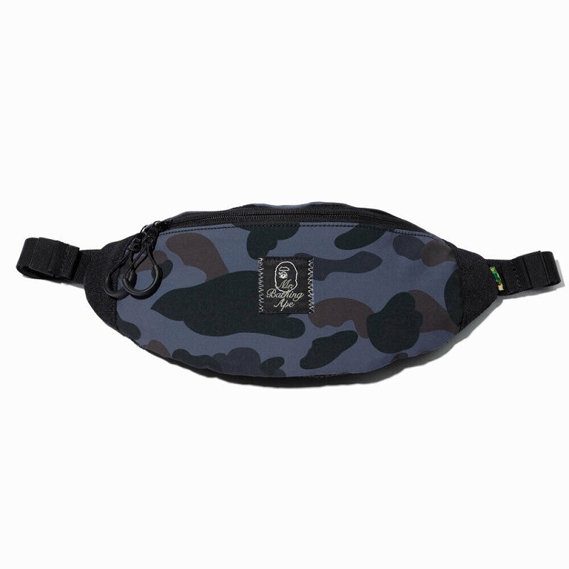 A BATHING APE Mr. BATHING APE MR. CAMO WAIST BAG - happyjagabee store