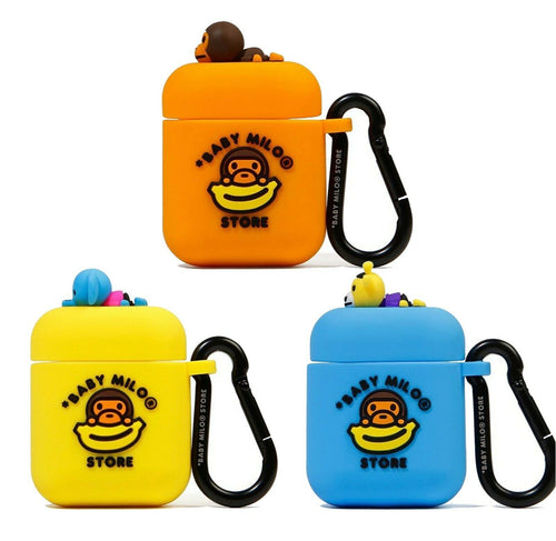 A BATHING APE BABY MILO STORE BABY MILO AIRPODS CASE - happyjagabee store