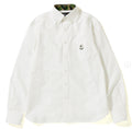A BATHING APE Mr. BATHING OXFORD BD SHIRT - happyjagabee store