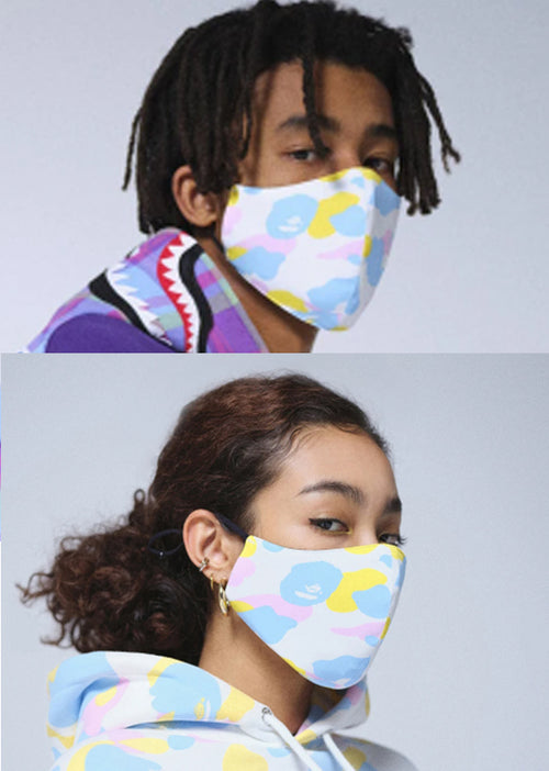 A BATHING APE DEF CAMO MASK
