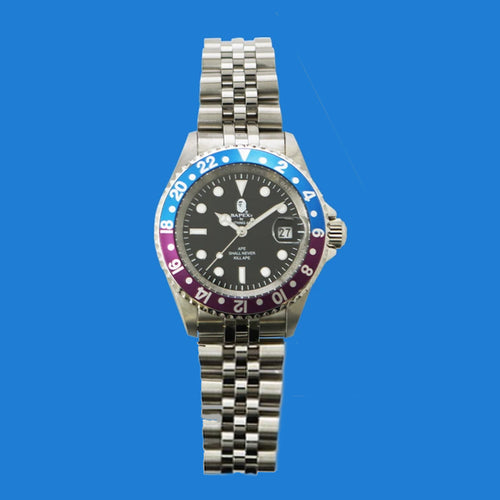 A BATHING APE BAPEX TYPE 2 Silver