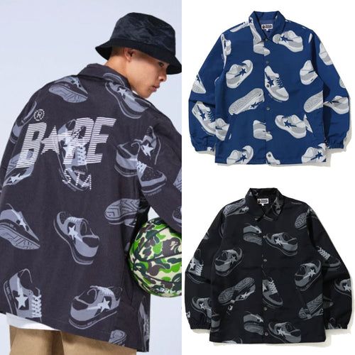 A BATHING APE Men's RANDOM BAPE STA COACH JACKET New