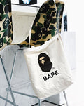A BATHING APE BAPE SHOULDER TOTE BAG - happyjagabee store