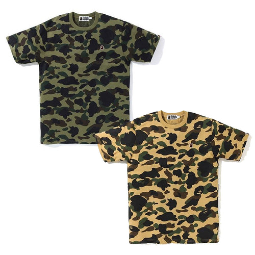 A BATHING APE 1ST CAMO ONE POINT TEE - happyjagabee store