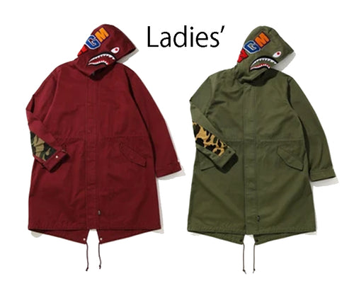 A BATHING APE Ladies' SHARK MODS COAT