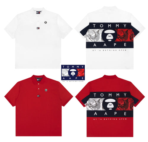 AAPE BY A BATHING APE x TOMMY JEANS POLO