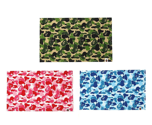 A BATHING APE ABC CAMO PLACE MAT - happyjagabee store
