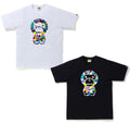A BATHING APE MULTI CAMO BIG BABY MILO TEE