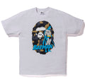 A BATHING APE BAPE × DC MADISON AVENUE APE HEAD BATMAN TEE