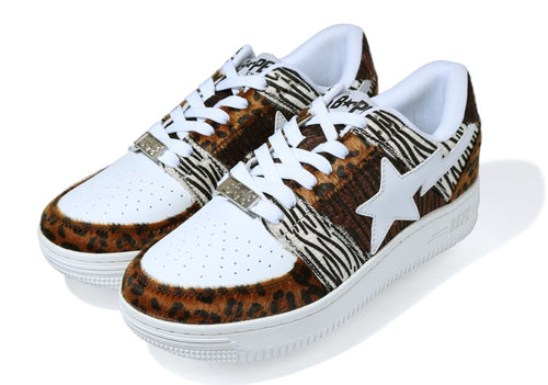 A BATHING APE ANIMAL MIX BAPE STA LOW - happyjagabee store