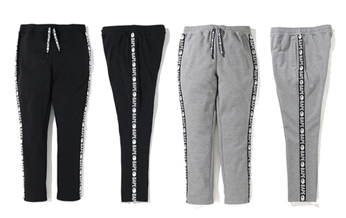 A BATHING APE BAPE DOUBLE KNIT PANTS - happyjagabee store