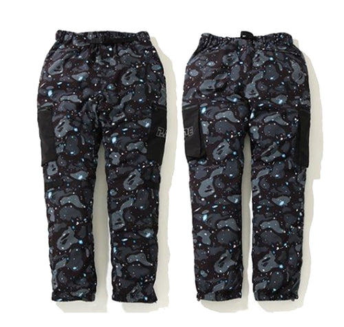 A BATHING APE SPACE CAMO MILITARY PANTS