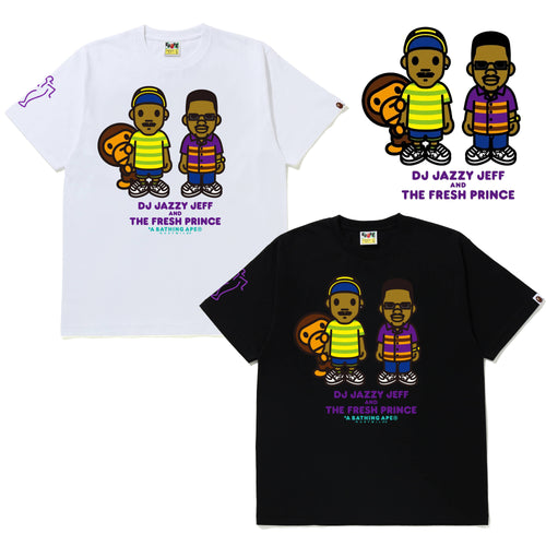 A BATHING APE x THE FRESH PRINCE & DJ JAZZY JEFF BABY MILO TEE