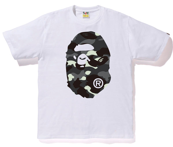A BATHING APE CITY CAMO BIG APE HEAD TEE - happyjagabee store